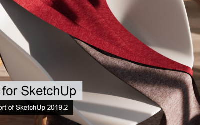 Thea for SketchUp: Full Support of SketchUp 2019.2