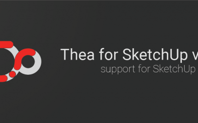 Thea for SketchUp v2.2 – SketchUp 2020 support