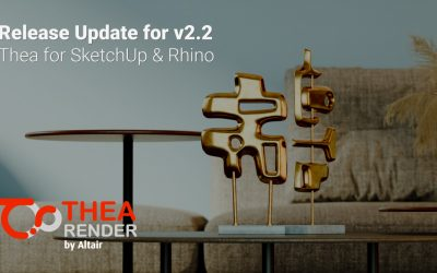 v2.2 Release Update: Thea for SketchUp and Rhino
